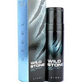 Wild Stone Steel No Gas Deodorant For Men 120ml Perfume