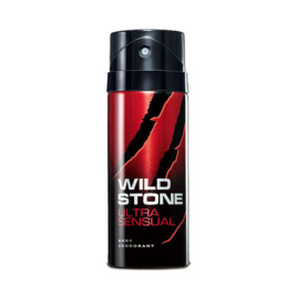 Wild Stone Ultra Sensual Pack Deodorant For Men 150 ml Perfume