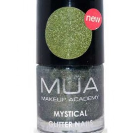 Mystical Glitter Nail Polish Green – Seahorse By MUA