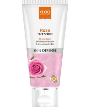 VLCC Rose Face Scrub, 80g