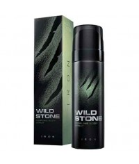 Wild Stone Iron No Gas Deodorant For Men 120ml