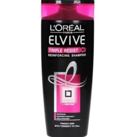 L'oreal Triple Resist Reinforcing Shampoo 400ml