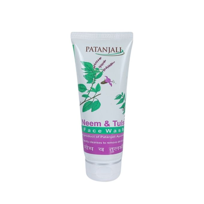 Patanjali Neem and Tulsi Face Wash - 60g