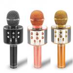 Wster WS-858 Portable Bluetooth Speaker Karaoke Microphone