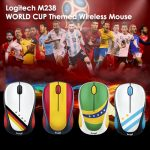 Logitech M238 WORLD CUP Themed Wireless Mouse bd price