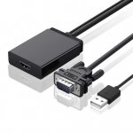 UGreen 40213 VGA+ USB audio to HDMI Converter