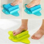 Foot Brush Cleaning Slipper