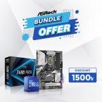 ASRock Z490 Pro4 10th Gen DDR4 Motherboard and Intel 10th Gen Core i5-10600K Processor Combo